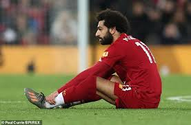 Mole Salah Dropped From Egyp'ts AFCON Qualifiers Due To Ankle Injury