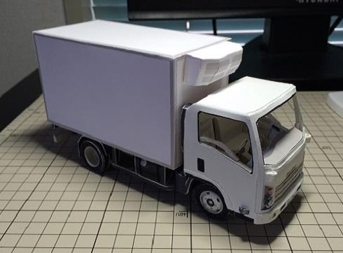 Foto Gambar Cara Membuat Miniatur Truk Kayu Terbaru
