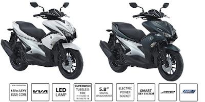 Yamaha aerox tipe S