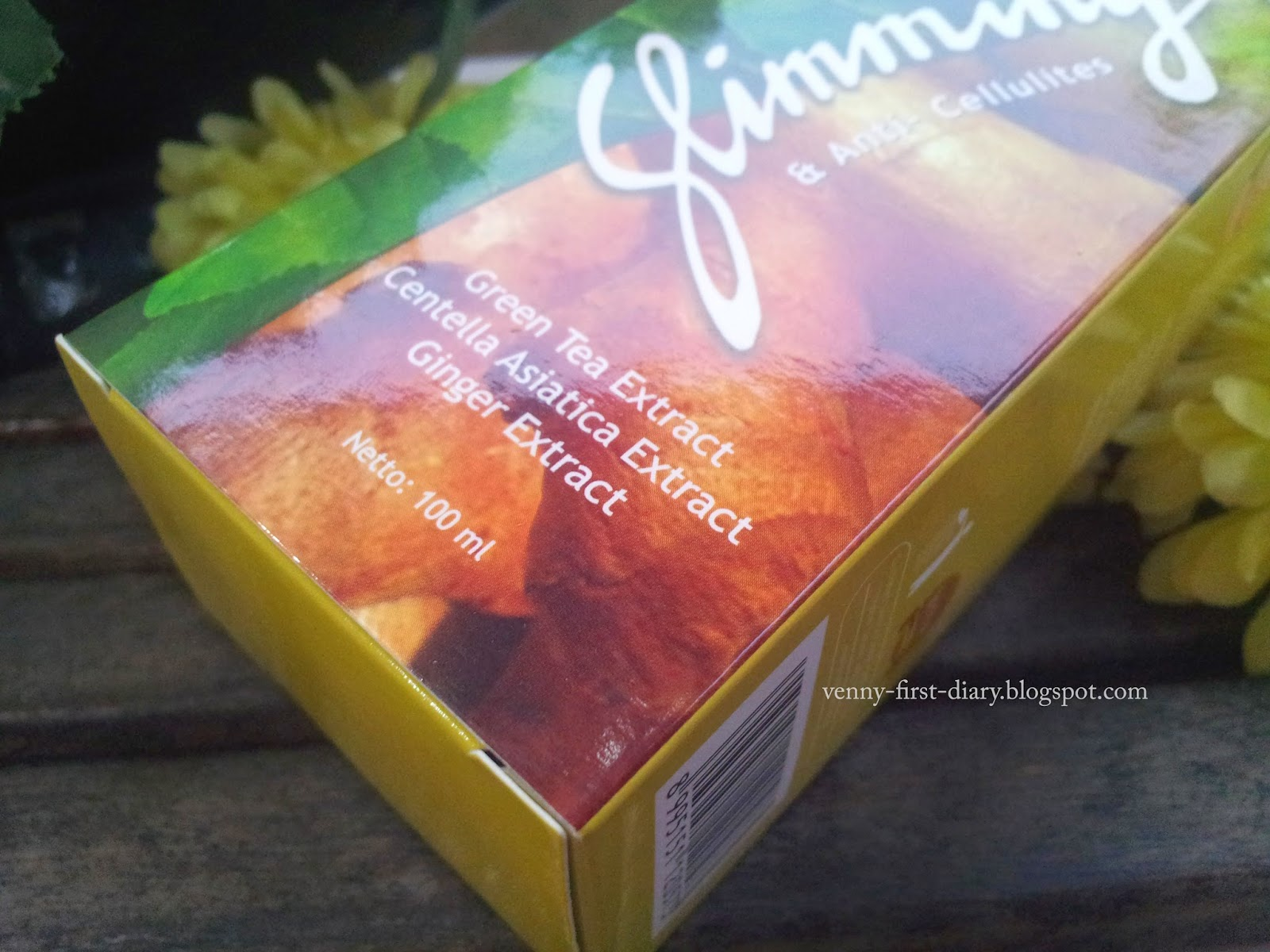 Review Mustika Ratu Slimming Gel plus jahe - Venny Firstyani