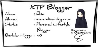 Tentang Elisa Fatma Ariesta, Personal Lifesyle Blogger