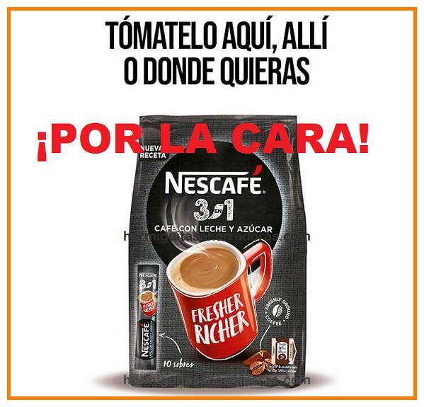 Prueba gratis Nescafé 3en1 en 2021