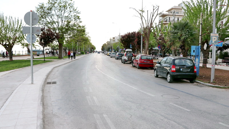 Αλεξανδρούπολη: Πεζοδρομείται τμήμα της παραλιακής οδού το τριήμερο 14-16 Μαΐου