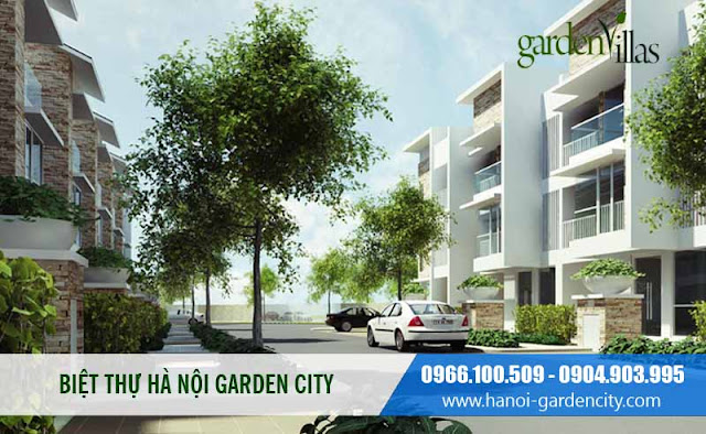 Biệt thự Garden Villas, biệt thự Hà Nội Garden City