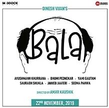 Bala Teaser : Ayushman Khurana play a baldness man role in his upcoming bala