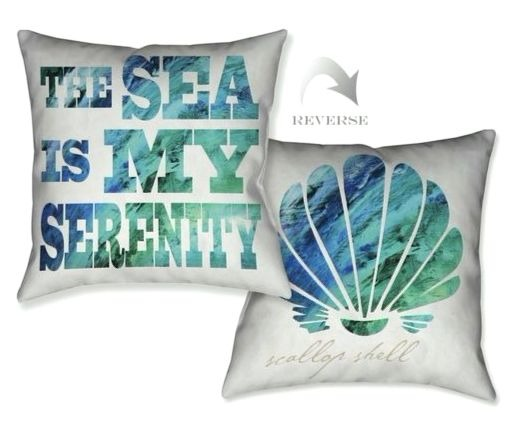 Coastal Pillows two Sided