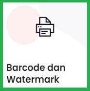 Barcode dan Watermark