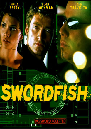 Swordfish 2001 BRRip 480p Dual Audio 300Mb