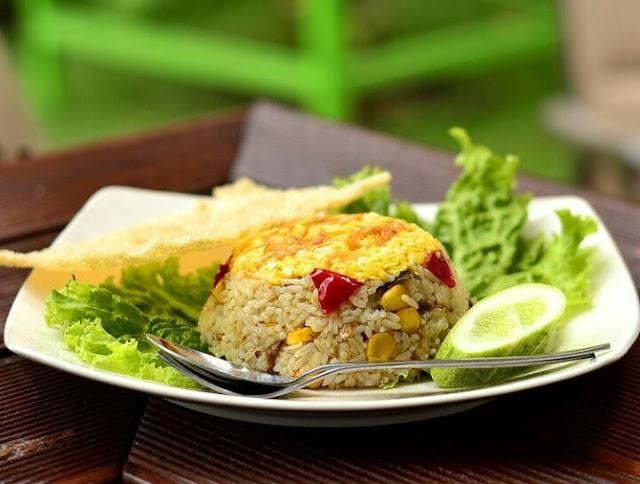 Resep nasi goreng jagung