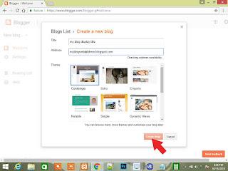 blogspot blogging tips