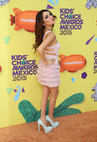 Dulce Maria – Nickelodeon Kids' Choice Awards Mexico 2015
