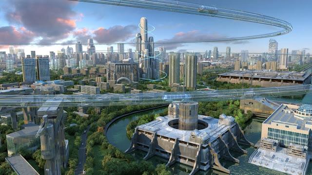 Ciudad del futuro - Charkleons.com