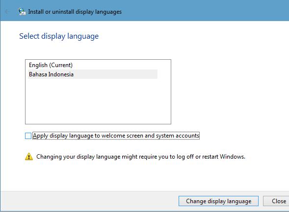 Cara Mudah Merubah Bahasa Windows 7 Menjadi Bahasa Indonesia