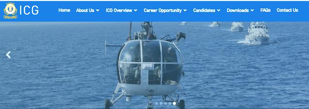 Indian Coast Guard Navik(General Duty),Navik (Domestic Branch) Recruitment 2021-2022 : Apply Now