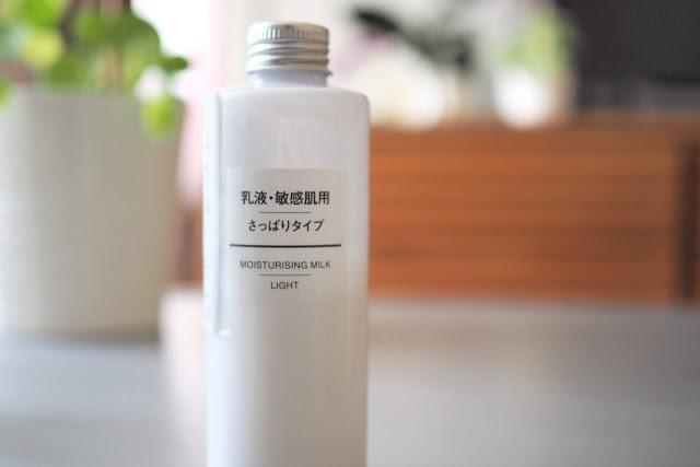 Muji Lait hydratant visage light