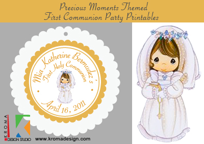 Religious Events First Communions Kroma Design Studio