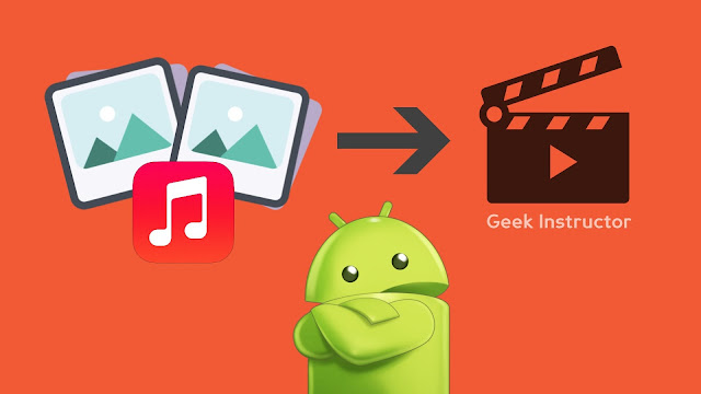 Make videos with photos and song on Android