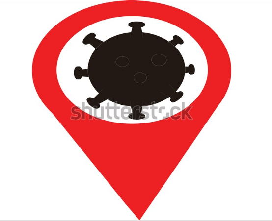 draw illustration PIN GPS