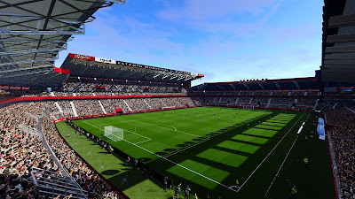 PES 2020 Stadium El Molinón ( With Enlighten )