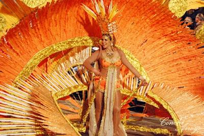 reina de las fiestas de Carnaval de Aguilas 2019