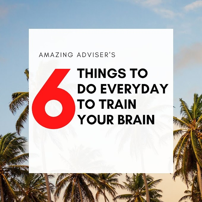 6 Things To Do Everyday To Train Your Brain To Be Successful