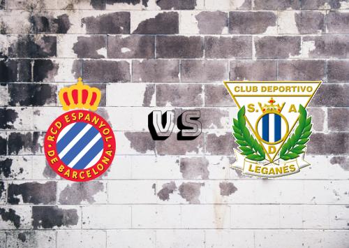 Espanyol vs CD Leganés  Resumen
