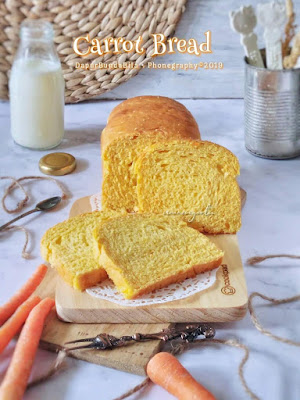 Resep Masakan Membuat Rotiar Tawar Wortel Lezat