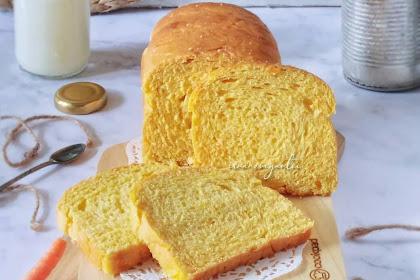 Resep Masakan Membuat Rotiar Tawar Wortel Lezat, Masakan Sederhana