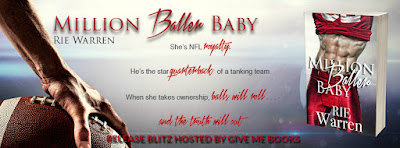 Million Baller Baby by Rie Warren Release Blitz + Giveaway