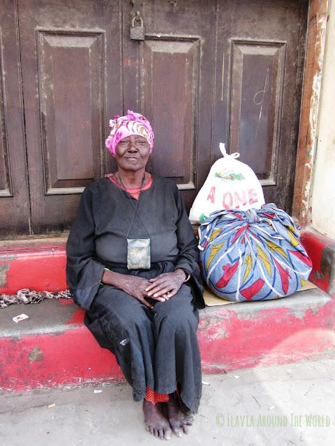 Mujer de Mombasa