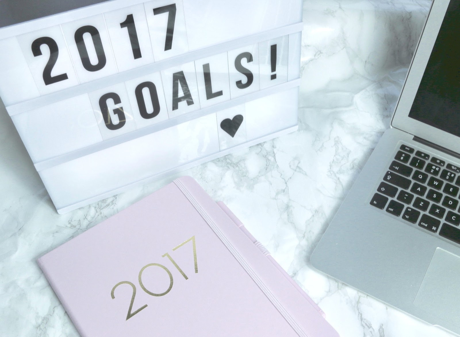 2017 New Year Goals