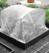 Gambar Pelindung bibit dari suhu rendah