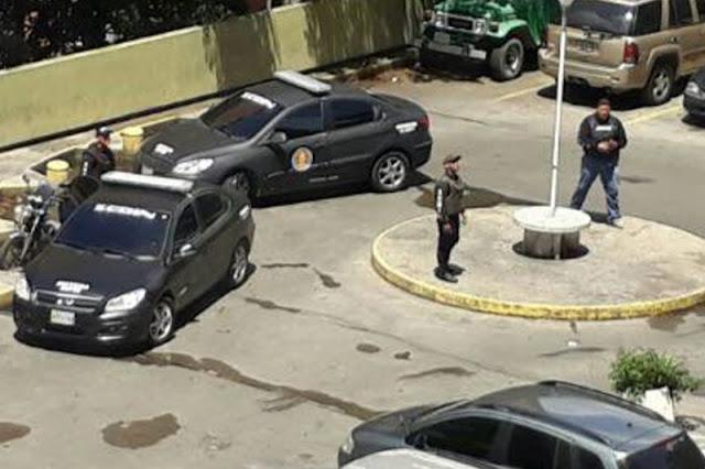 SEBIN allanó varios edificios de El Paraíso por protestas de anoche