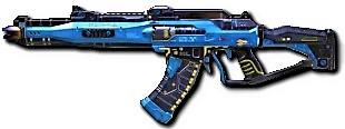 AK 47 Steel Blue