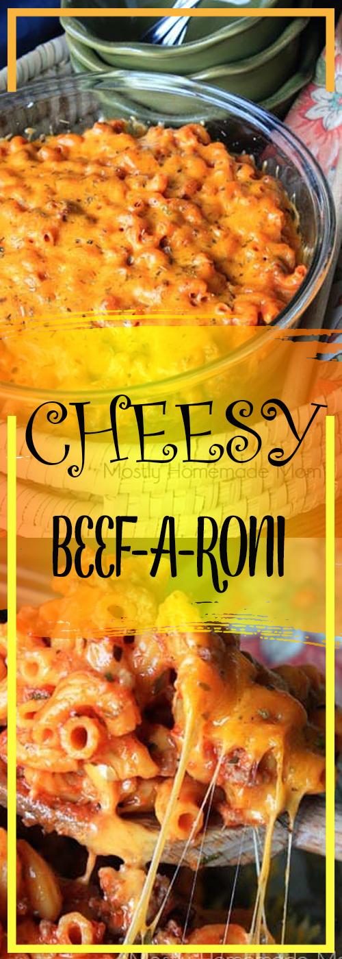 CHEESY BEEF-A-RONI RECIPE