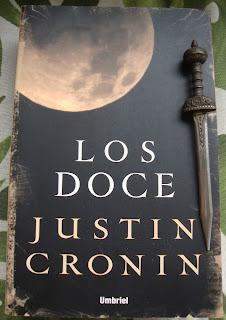 Portada del libro Los doce, de Justin Cronin