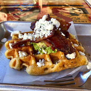 The Number Seven waffle at Atypical Waffle Company