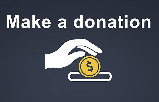 organization on the web before you donate