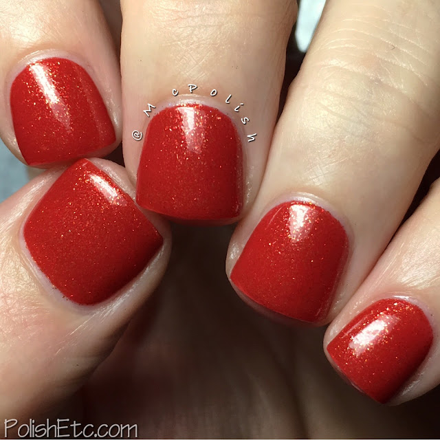 Nine Zero Lacquer - The Valley Isle Collection - McPolish - Volcanic