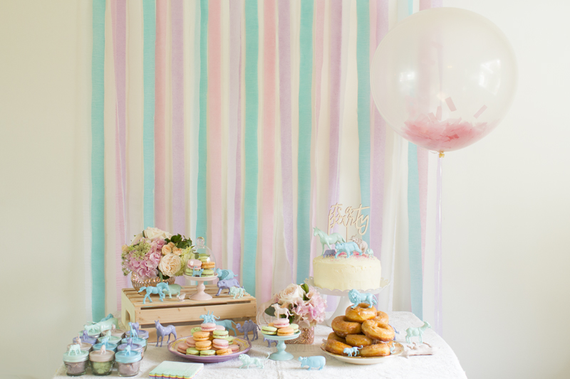 Pastel Animal Birthday Party