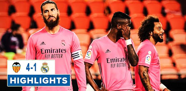 Valencia vs Real Madrid – Highlights