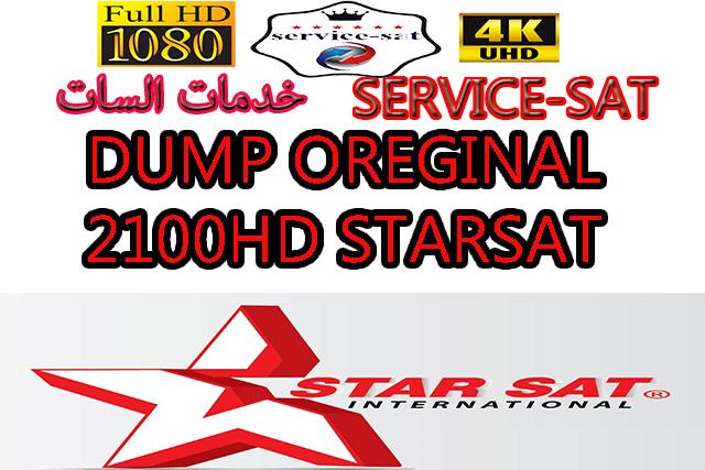 DUMP OREGINAL STARSAT 2100HD W25P32