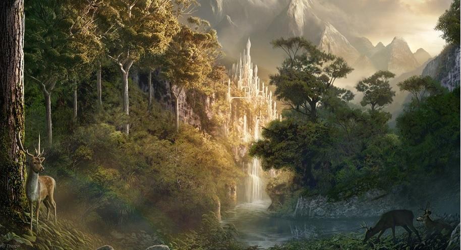 Vanaheim, o Mundo da Tribo Vanir de Deuses e Deusas