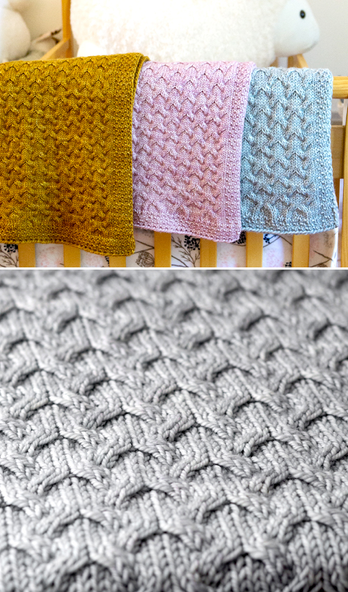Astrophil Blanket - Free Knitting Pattern