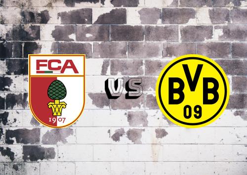 Augsburg vs Borussia Dortmund  Resumen y Partido Completo