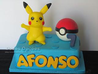 O Afonso apanhou um Pikachu no seu 7º aniversário