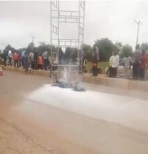 Two men electrocuted in Kaduna while working on a streetlight