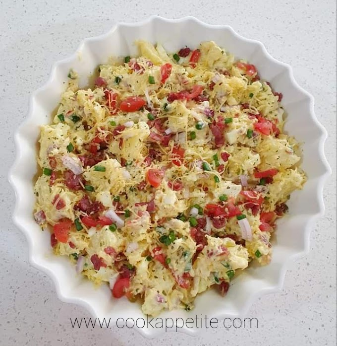 Cheese Potato Salad Recipe