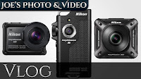 KeyMission Cameras - Nikon Introduces Their Own Action Cameras - My Thoughts