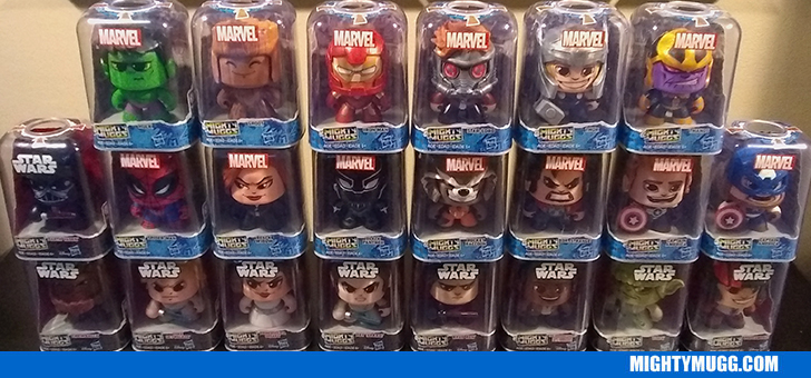 Mighty Muggs Toyoverlord Collection Update for 2018 Marvel and Star Wars